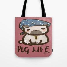 'Pug Life' Tote Bag
