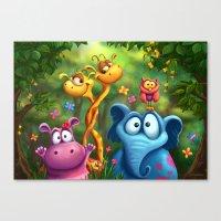 Shangagel Boogie Canvas Print