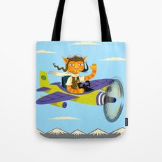Tibbles Learns To Fly Tote Bag