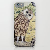 iPhone & iPod Case featuring Laughing Owl  by Heather Bechler