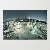 Capitol Hill - Seattle W… Canvas Print