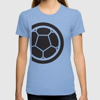 Brazil World Cup 2014 - … Womens Fitted Tee Tri-Blue SMALL