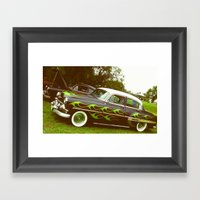 old car Framed Art Print