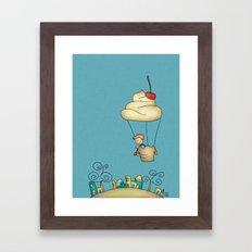 Sweet world Framed Art Print