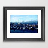 Vancouver Yacht Club Framed Art Print