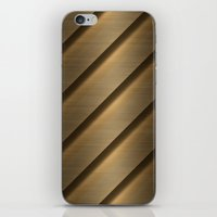 Copper Brass Metal Pipe iPhone & iPod Skin
