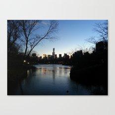 Dusk in the City Canvas Print
