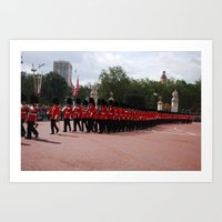Soldiers March 30 Art Print
