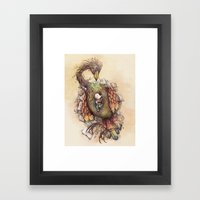 A Safe Place Framed Art Print