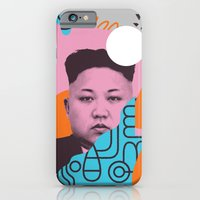 iPhone & iPod Case featuring Kim Jong Fun! by Wilmer Murillo