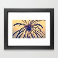Tenerife Palm Tree Framed Art Print