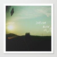 DruM Bun Canvas Print