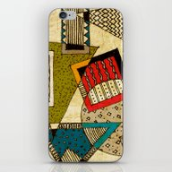 iPhone & iPod Skin featuring Abstract Composition 02 by Ioana Luscov