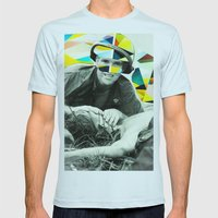 Last Breath Mens Fitted Tee Light Blue SMALL