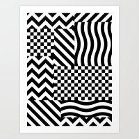 Dazzle 01 Art Print