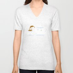Tea Time! Unisex V-Neck