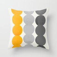 15 O Throw Pillow