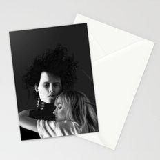 Johnny Depp, Edward Scissorhands Stationery Cards