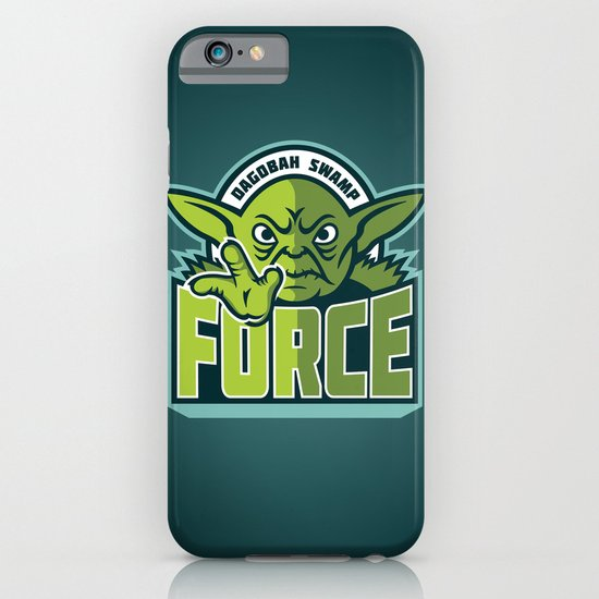 Dagobah Swamp Force - Teal iPhone & iPod Case