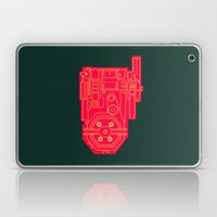 Circuit Drawing of a Proton Pack Laptop & iPad Skin
