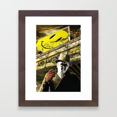Who Watches The Watchmen? Framed Art Print