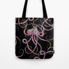 Reverse Drunk Octopus Tote Bag