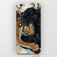 A Battle Of Wills iPhone & iPod Skin