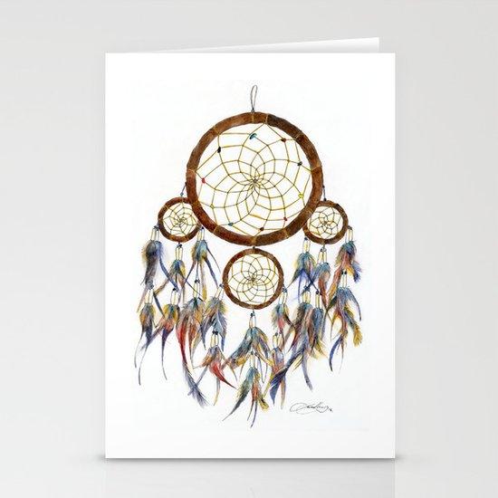 Dream Catcher Stationery Card