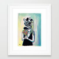 Jungle Candy Framed Art Print