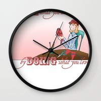 Love what you Do... Wall Clock