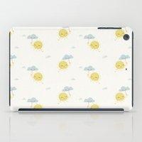 Little Sun white iPad Case