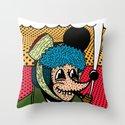 SEVERED EAR.  (Self Portait Of Van Gogh). Throw Pillow