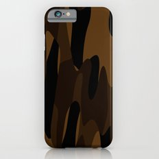 Brown Abstract iPhone 6s Slim Case