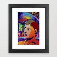 Ian Curtis 2 Framed Art Print