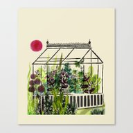 DREAM GREENHOUSE Canvas Print
