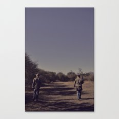 the hunters. Canvas Print