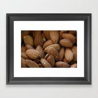 Almonds Framed Art Print