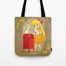 Retro Sailor Venus Tote Bag