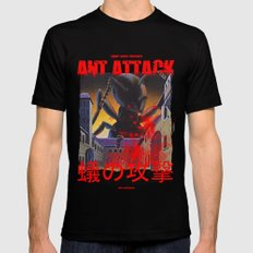 Ant Attack SMALL Black Mens Fitted Tee
