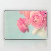 Cotton Candy, Pink Ranunculus Laptop & iPad Skin