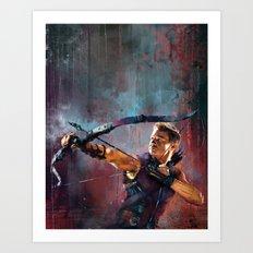 Clint Barton Art Print
