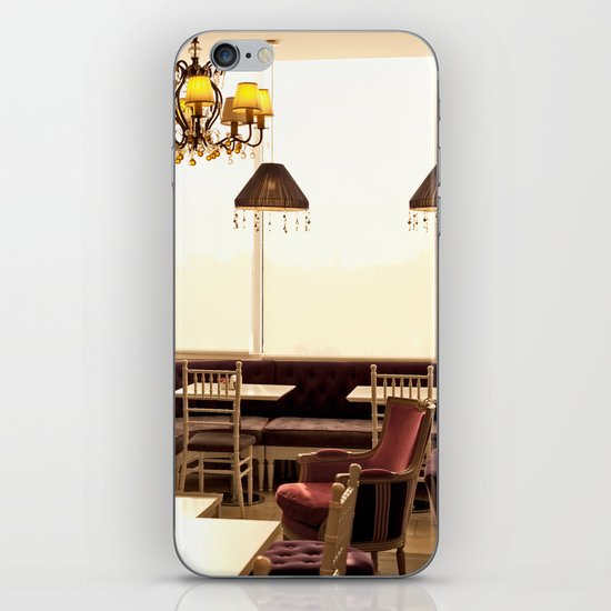 Cafe (French Vintage Cafe - Restaurant) iPhone & iPod Skin