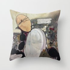 Dead Memories Throw Pillow