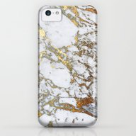 Gold Marble iPhone 5c Slim Case