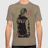 live fast die young Mens Fitted Tee Tri-Coffee SMALL