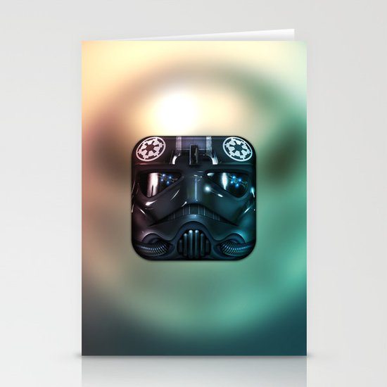 TIE Fighter Pilot Stationery Card