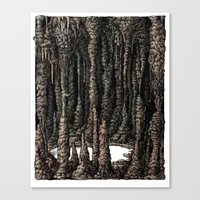 Inner Scenery- ver.A Canvas Print