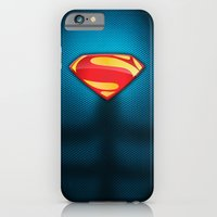 Man Of Steel Suit iPhone 6 Slim Case