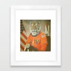 Moon Tiger  Framed Art Print