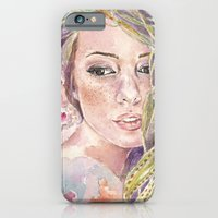 iPhone & iPod Case featuring Parthenope  by Trisha Thompson Adams